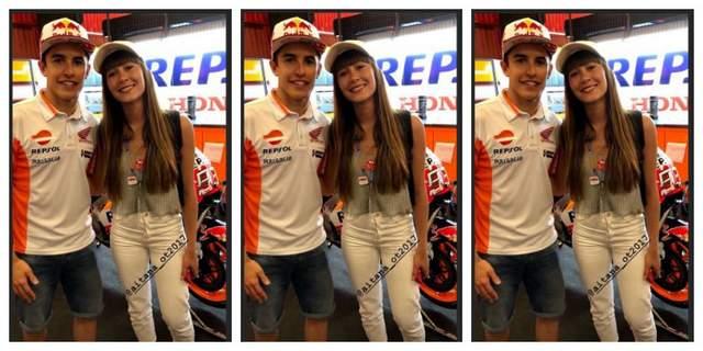 Marc Marquez dan Aitana Ocana