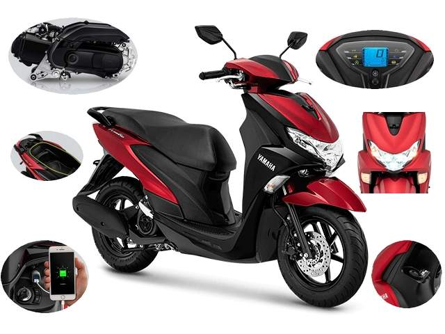 Pilihan Warna dan Harga Yamaha FreeGo