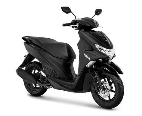 Gambar Yamaha FreeGo Warna Hitam.