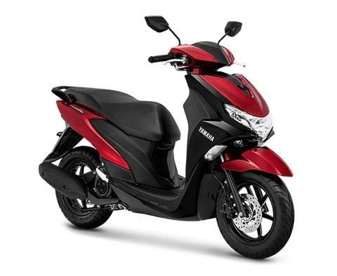 Gambar Yamaha FreeGo Warna Merah.