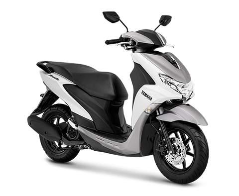 Gambar Yamaha FreeGo Warna Putih.