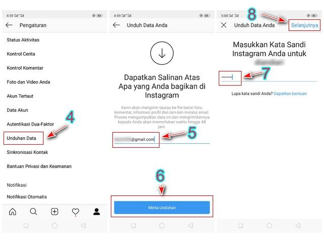 Cara Download Foto Instagram Sekaligus