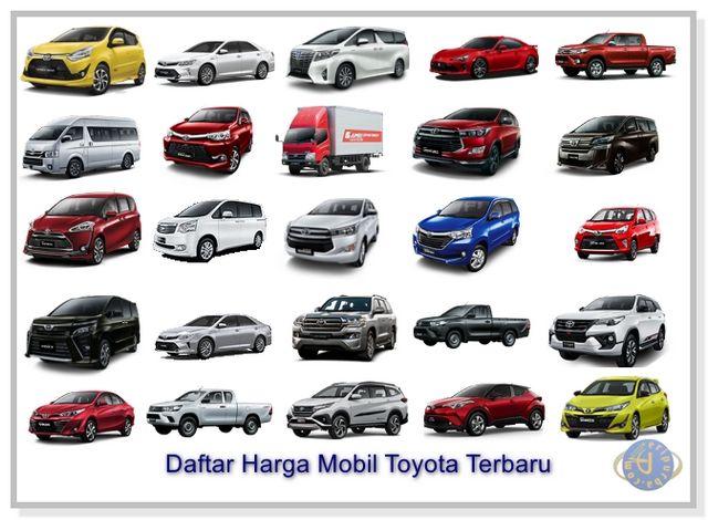 Daftar Harga Mobil Toyota 2019.