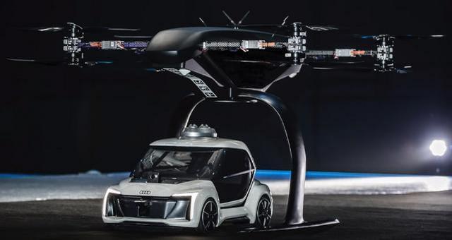 Desain Mobil Taksi Terbang Audi