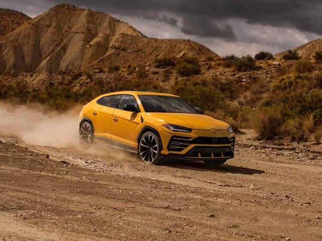 Gambar Lamborghini Urus 2019