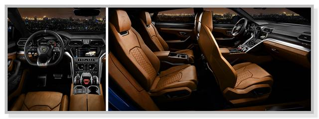 Interior Lamborghini Urus 2019