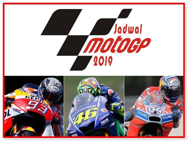 Jadwal MotoGP 2019.