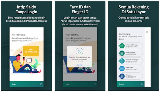 Buka Rekening Lewat Aplikasi Permata Mobile X