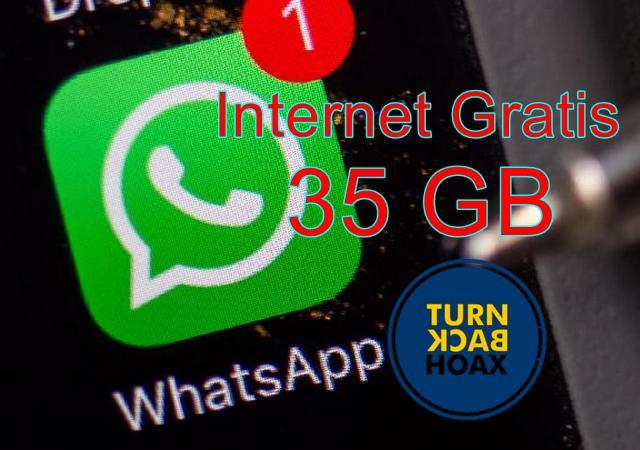 Ulang Tahun WhatsApp Hoax Gratis Paket Data