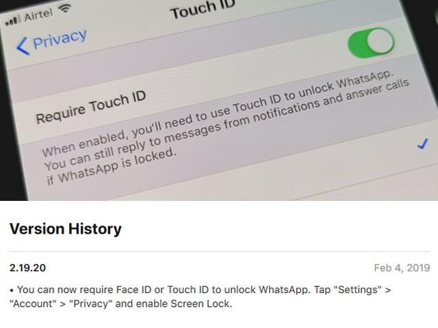 Cara Kunci WhatsApp dengan Wajah dan Sidik Jari
