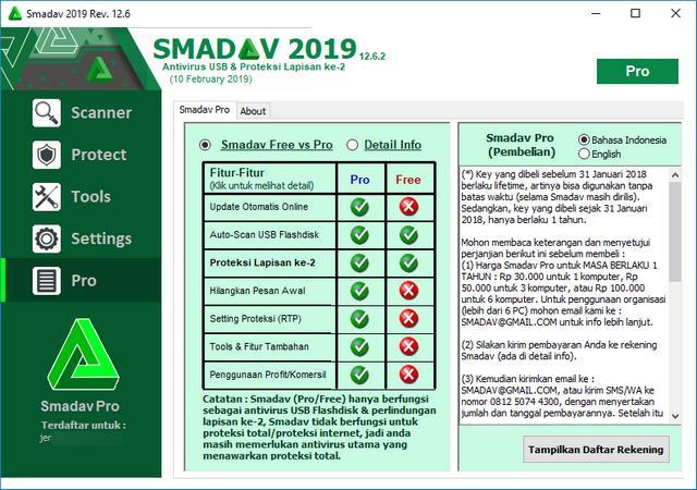 Download Smadav 2019 Terbaru 12.6 Cegah Ransomware Rumba