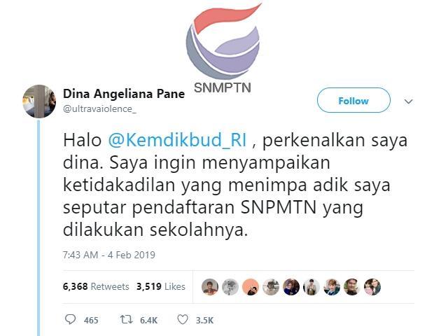 Gagal SNMPTN