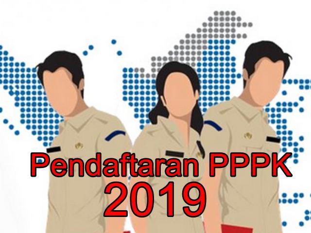 Pendaftaran PPPK 2019 di sscasn.go.id