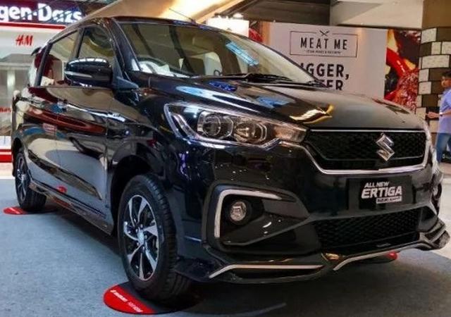 Eksterior Suzuki Ertiga Sport 2019