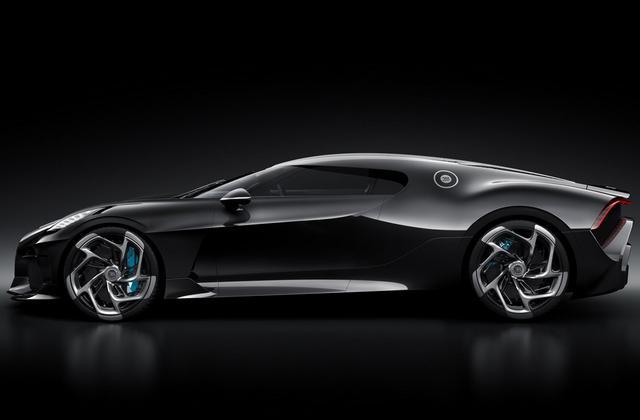 Gambar Mobil Bugatti La Voiture Noire 2019 Tampak Samping