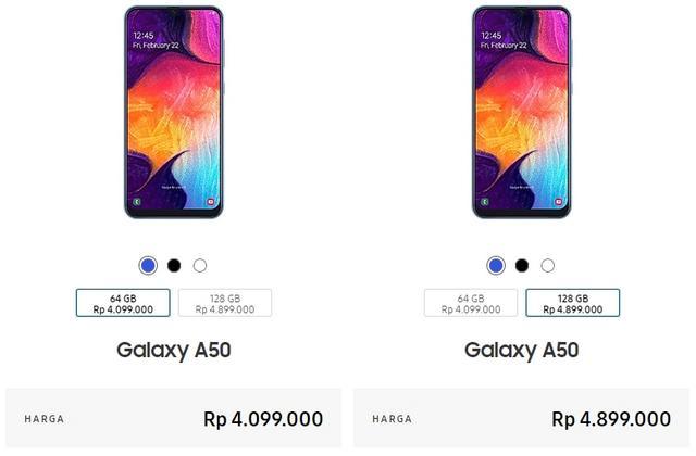 Harga Samsung A50