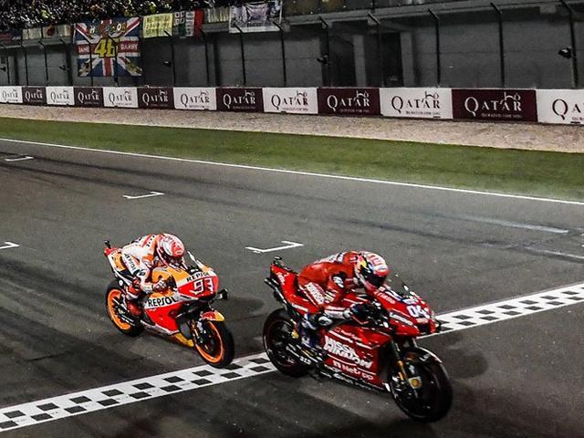 Hasil MotoGP Qatar 2019 Dovi VS Marquez