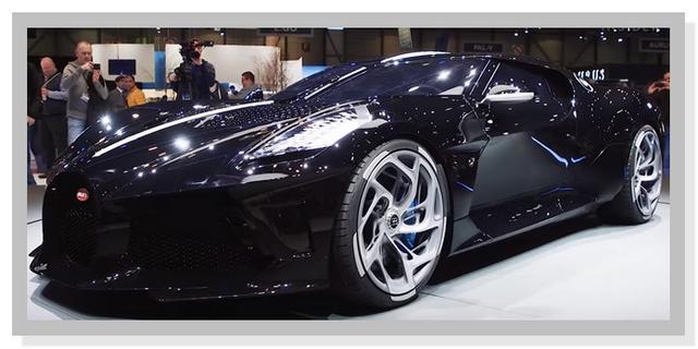Mobil Termahal Di Dunia - Bugatti La Voiture Noire 2019