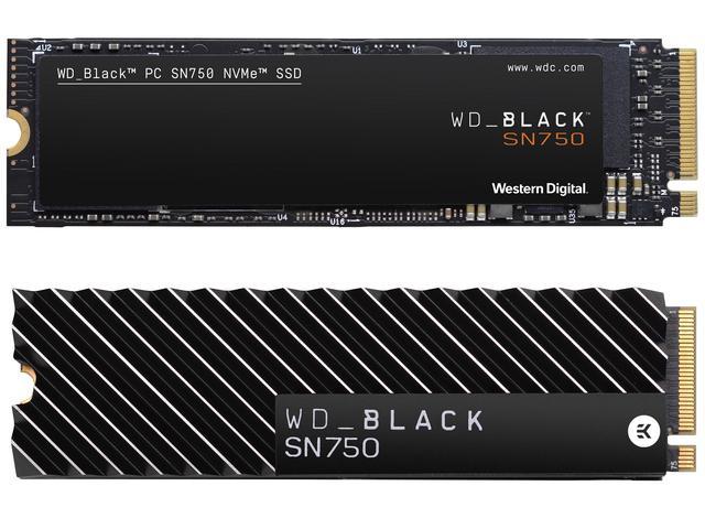 SSD NVMe WD Black SN750 Untuk PC Gaming