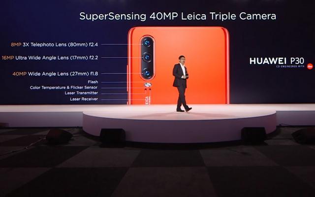 Spesifikasi Kamera Huawei P30