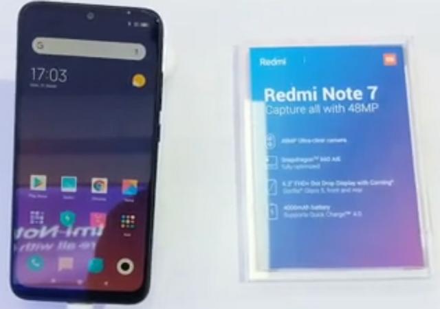 Spesifikasi Xiaomi Redmi Note 7 di Indonesia