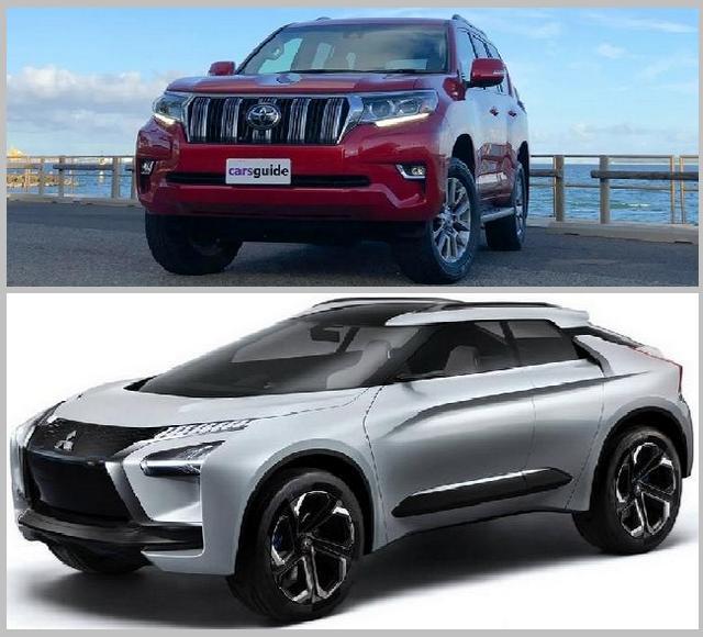 Toyota Land Cruiser Prado 2019 VS SUV Baru Mitsubishi