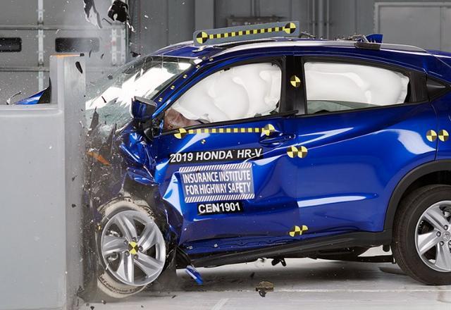 Uji Keselamatan Honda HR-V 2019