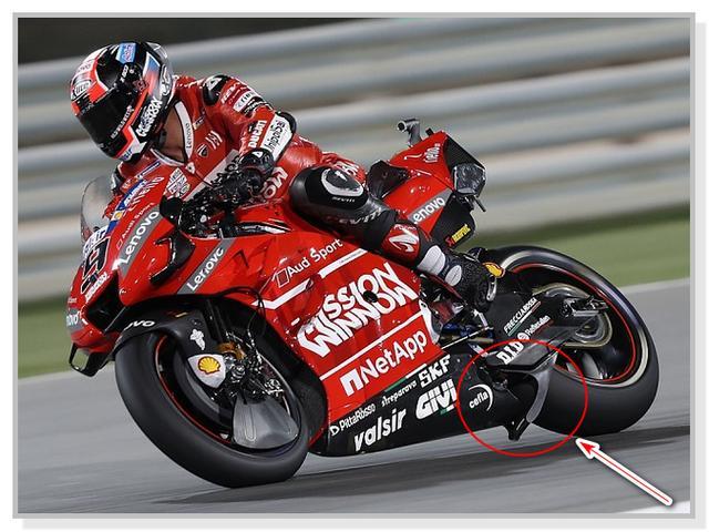 Winglet Pada Ducati GP19 Dovizioso