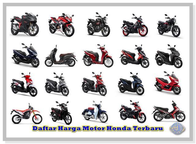 Daftar Harga Motor Honda 2019