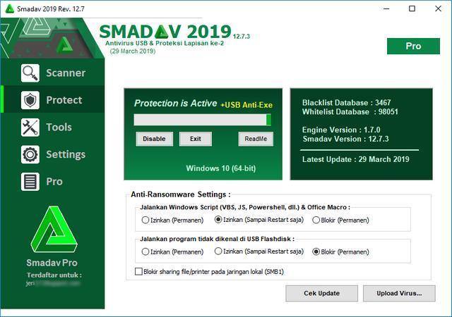 Download Smadav Pro Final 2019 12.7