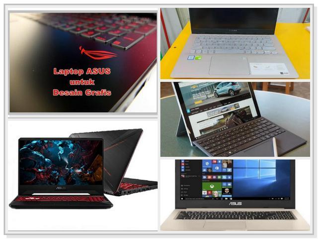 Laptop Asus untuk Desain Grafis