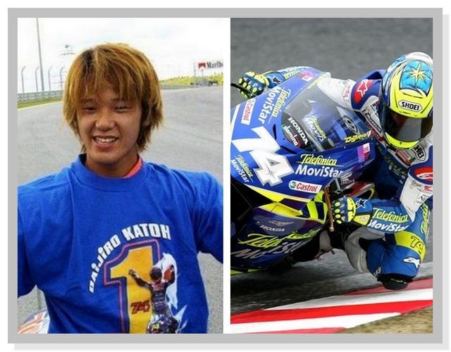 Legenda MotoGP Daijiro Kato Nomor 74