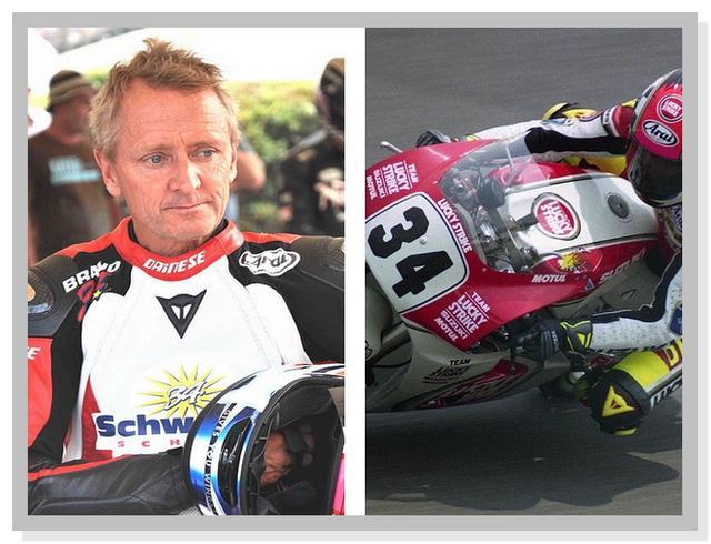 Legenda MotoGP Kevin Schwantz Gunakan Nomor 34
