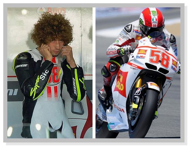 Legenda MotoGP Marco Simoncelli Nomor 58