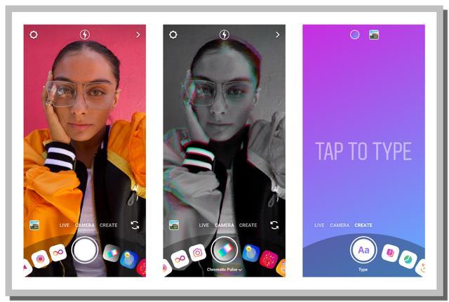 Fitur Kamera Baru dan Creat Mode Instagram