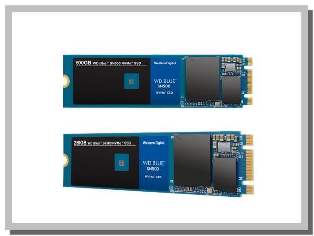Fitur dan Spesifikasi SSD NVMe WD Blue SN500