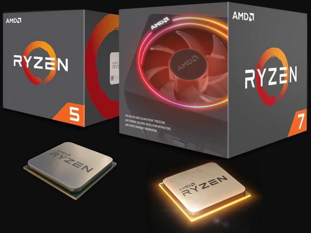 Harga Prosesor AMD Ryzen 7 2700X dan AMD Ryzen 5 2600X