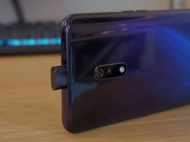 Kamera Selfie Pop Up Realme X