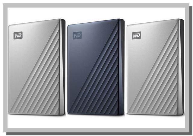 Pilihan Warna HD Eksternal WD My Passport Ultra 1TB, 2TB, 4TB