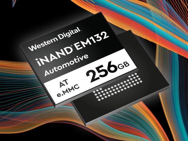 eMMC Automotive Grade EFD 256GB