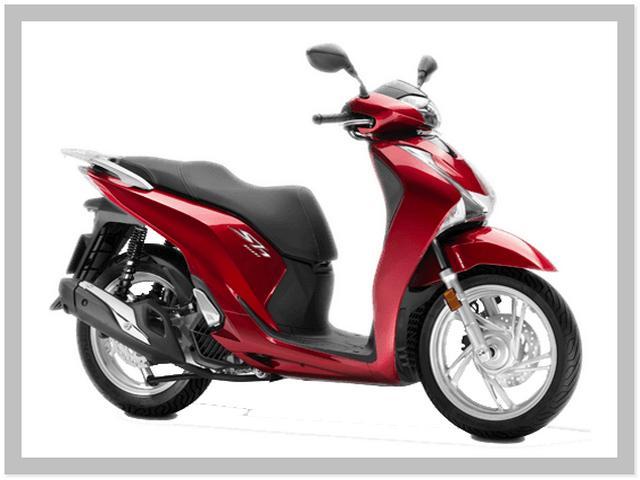 Harga Motor Honda SH150i Warna Candy Luster Red