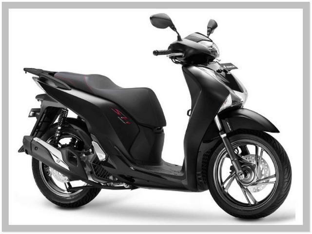 Harga Motor Honda SH150i Warna Mat Galaxy Black Metallic