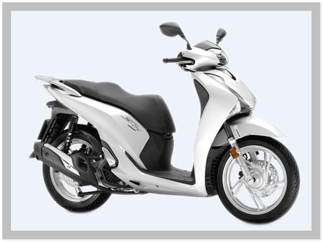 Harga Motor Honda SH150i Warna Pearl Jasmine White