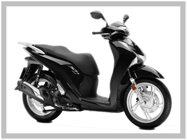 Harga Motor Honda SH150i Warna Poseidon Black Metallic