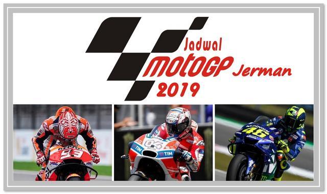 Jadwal MotoGP 2019 dan Jam Tayang GP Jerman