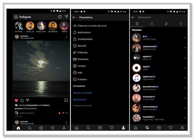 Cara Mengaktifkan Tema Gelap Instagram di Android