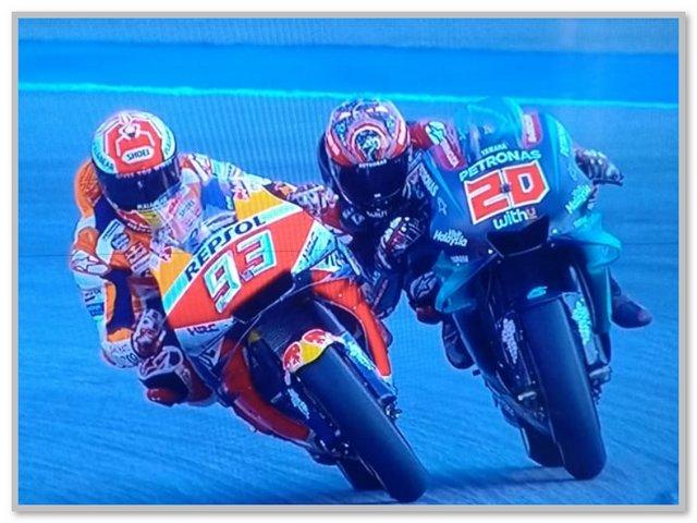 Marc Marquez VS Fabio Quartararo GP Thailand
