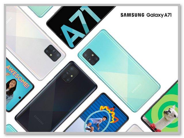 Fitur dan Spesifikasi Samsung Galaxy A71