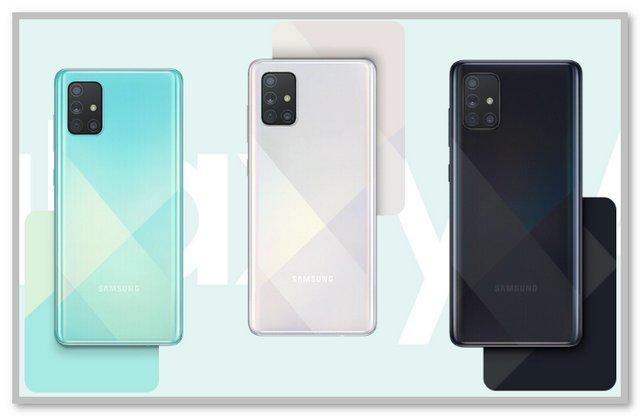 Pilihan Warna Samsung Galaxy A71