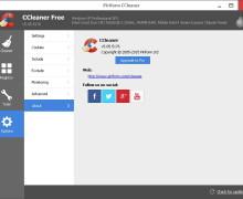 Download CCleaner Versi 5.05 Mendukung Windows 10 (build 10049)